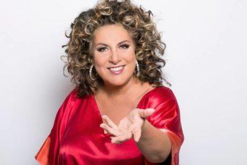 Marianne James, comédienne, chanteuse et animatrice télé